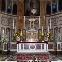 Church of the Sacred Heart, The Crescent, Limerick. Main Altar.